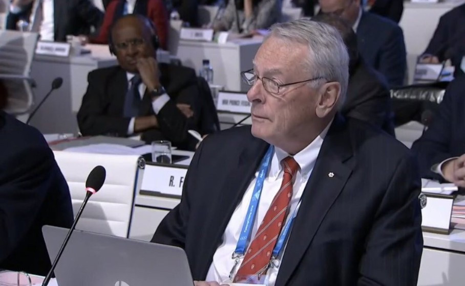 Richard Pound claimed the IOC had lost the confidence of athletes in the anti-doping fight ©Olympic Channel
