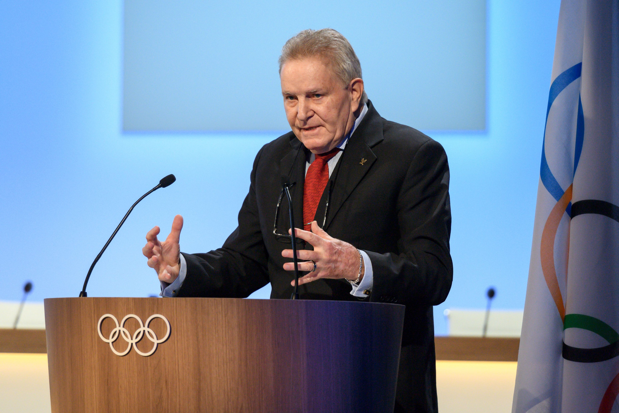 Denis Oswald, the Swiss who headed the IOC Disciplinary Commission which found 39 Russian athletes guilty of doping at Sochi 2014, was angry at claims it had been set up to ultimately fail ©Getty Images