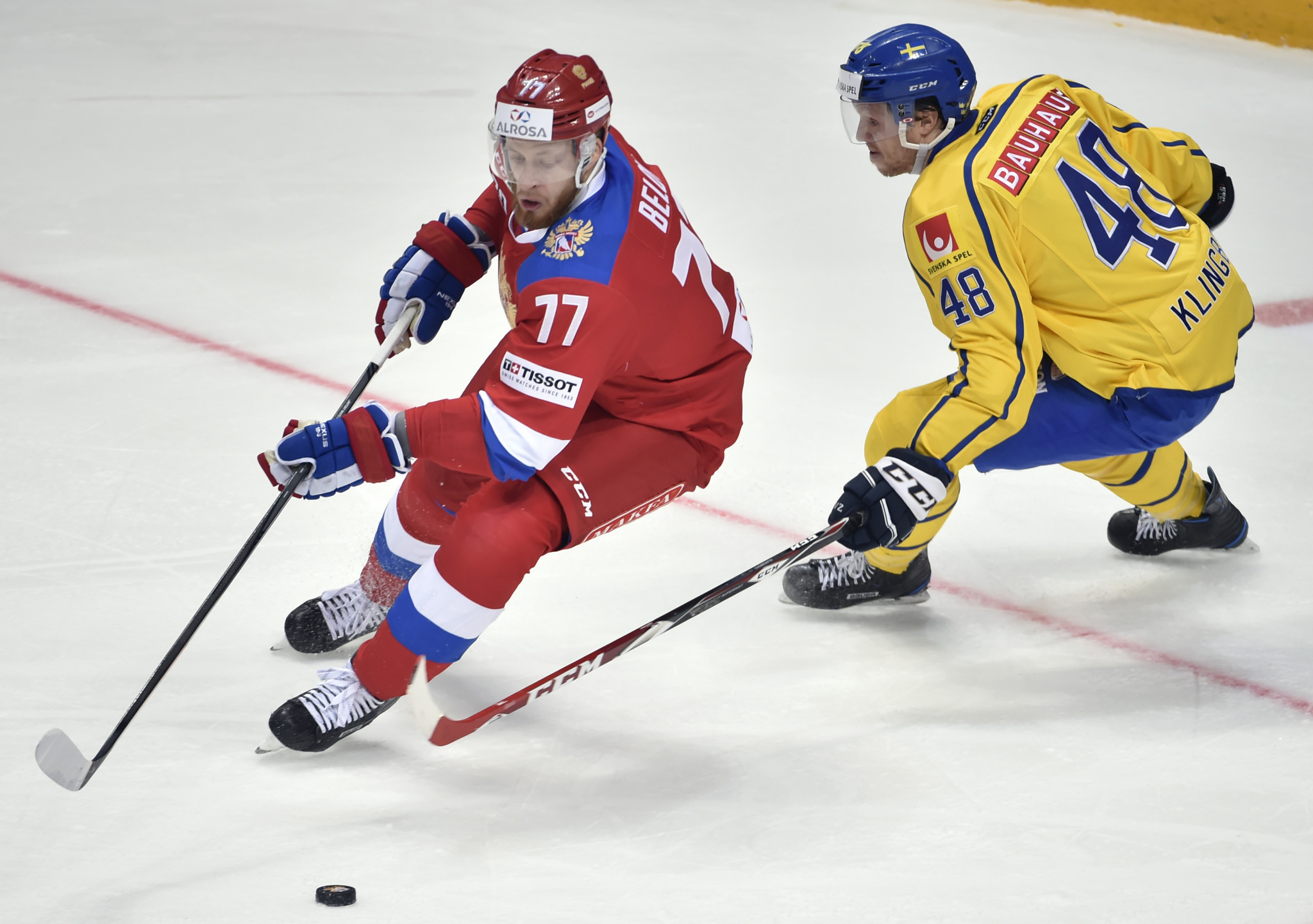 Former NHL player Anton Belov was considered a possibility for the Olympic Athletes from Russia ice hockey team until the IOC banned him, a decision he is now appealing against ©Getty Images