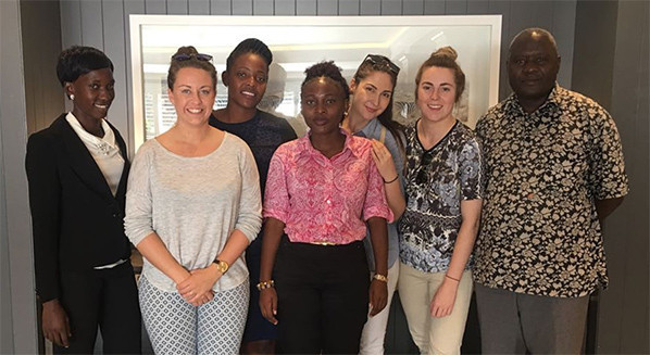 CGF internship programme members from Europe and Africa unite for first time in lead up to Gold Coast 2018