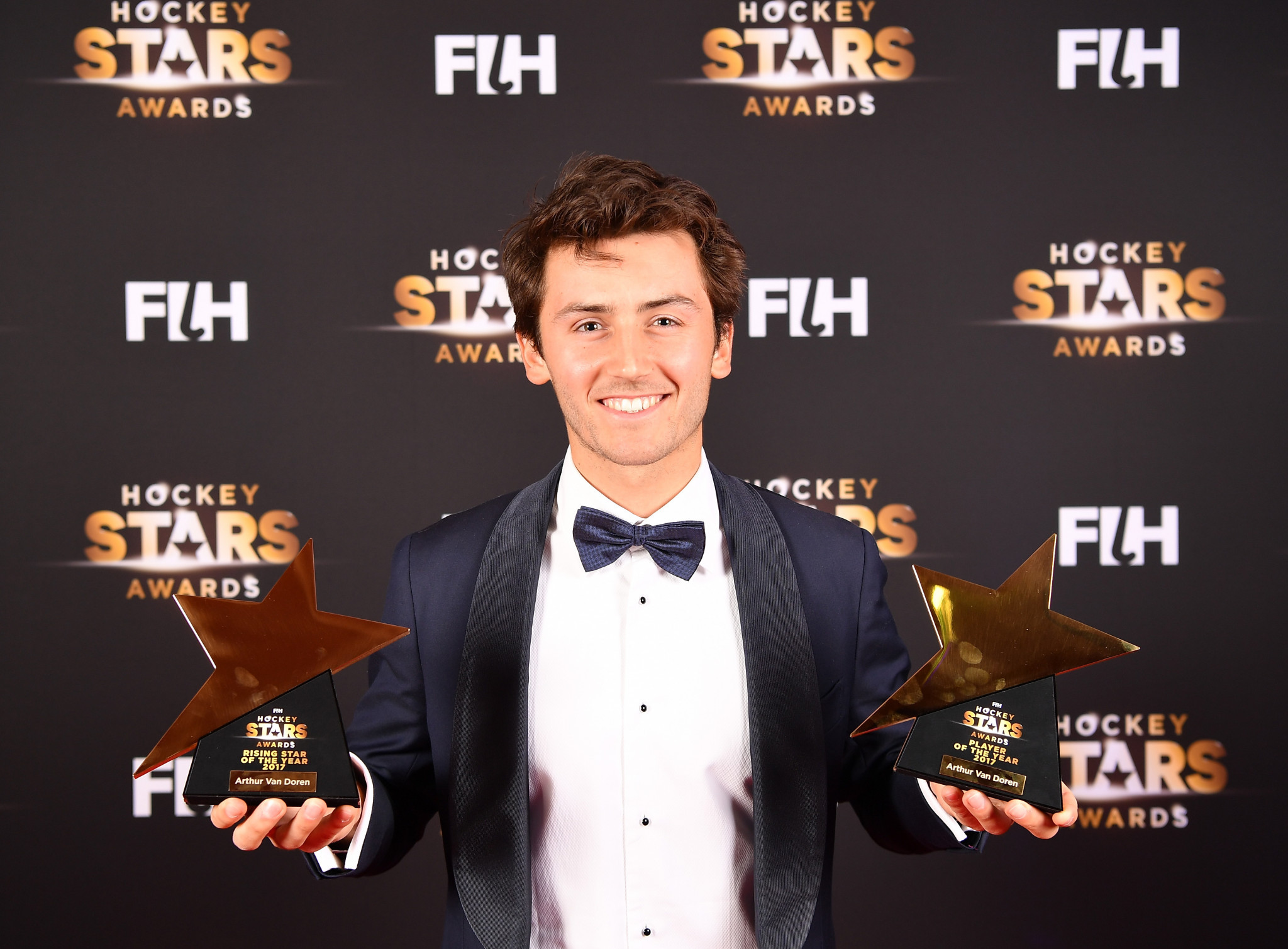 Van Doren scoops two prizes at FIH Hockey Stars Awards