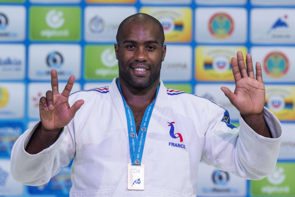 Record-breaker Riner wins eighth world title as individual events end at 2015 World Judo Championships