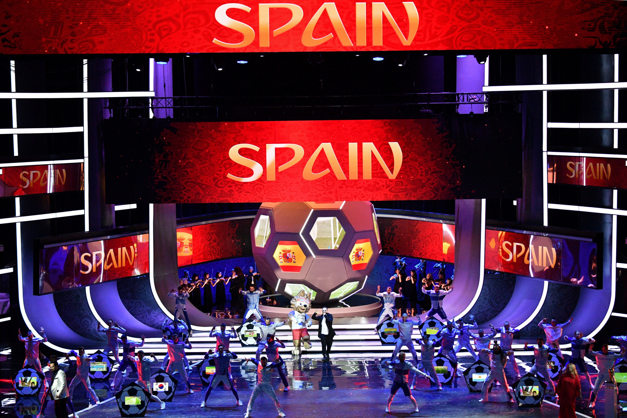Spain are set to compete against Iran, Portugal and Morocco in the group stage in Russia ©Getty Images