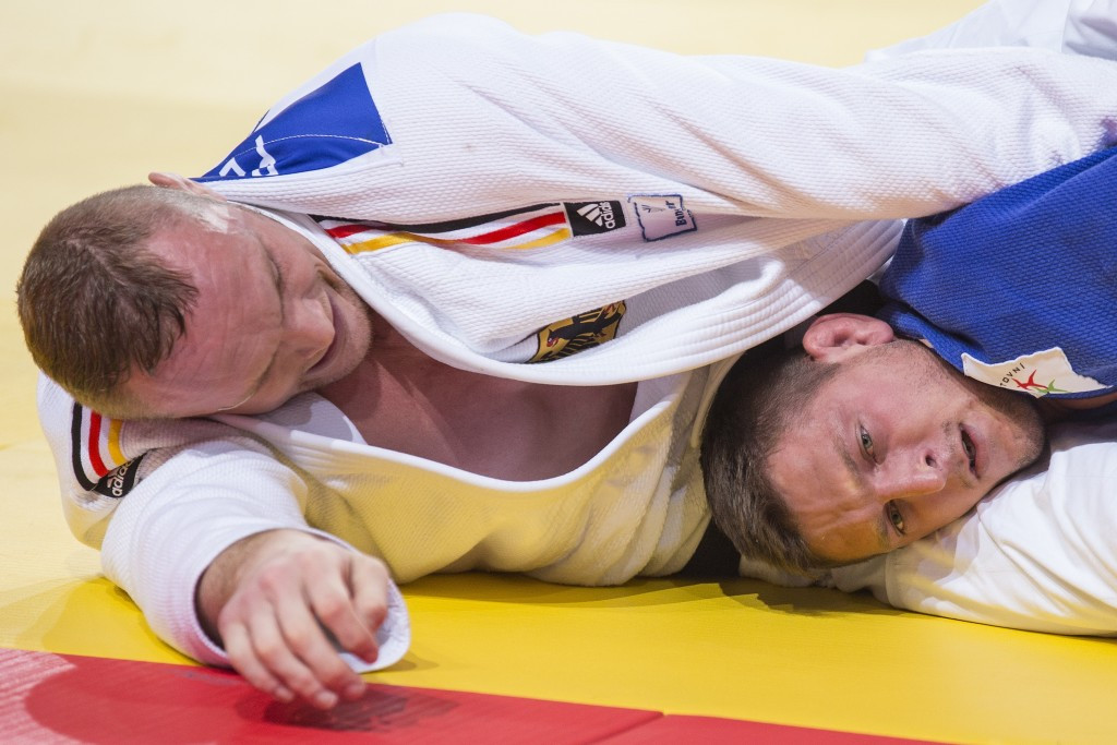Czech Republic's Lukas Krpalek was unable to defend his men's under 100 kilograms title ©AFP/Getty Images