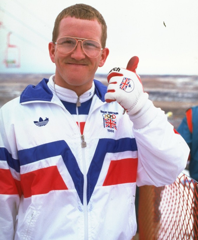 Eddie the Eagle captured the imaginations at the Calgary 1988 Winter Olympics ©Getty Images