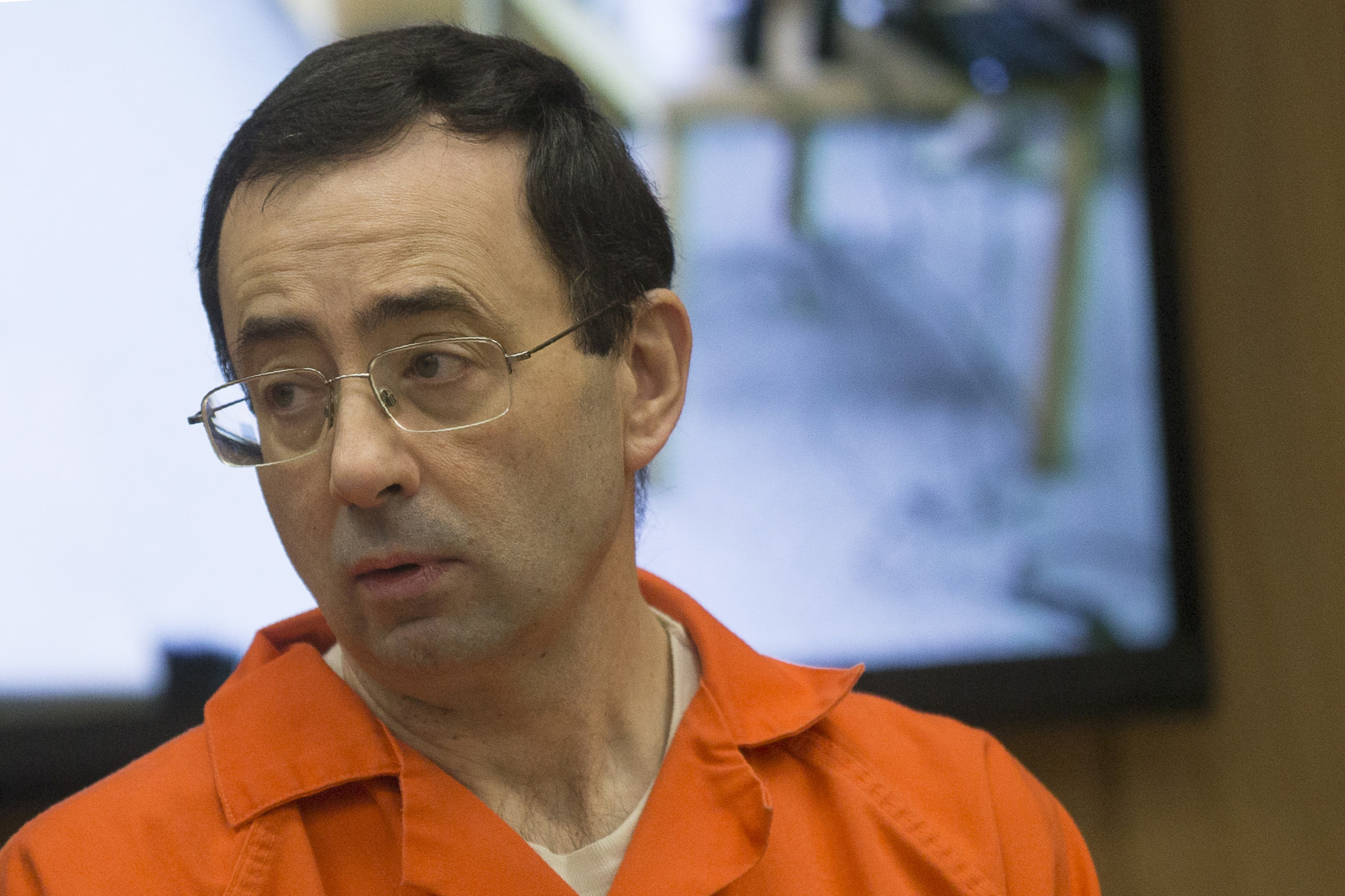 Larry Nassar appeared in court for his final sentencing phase ©Getty Images