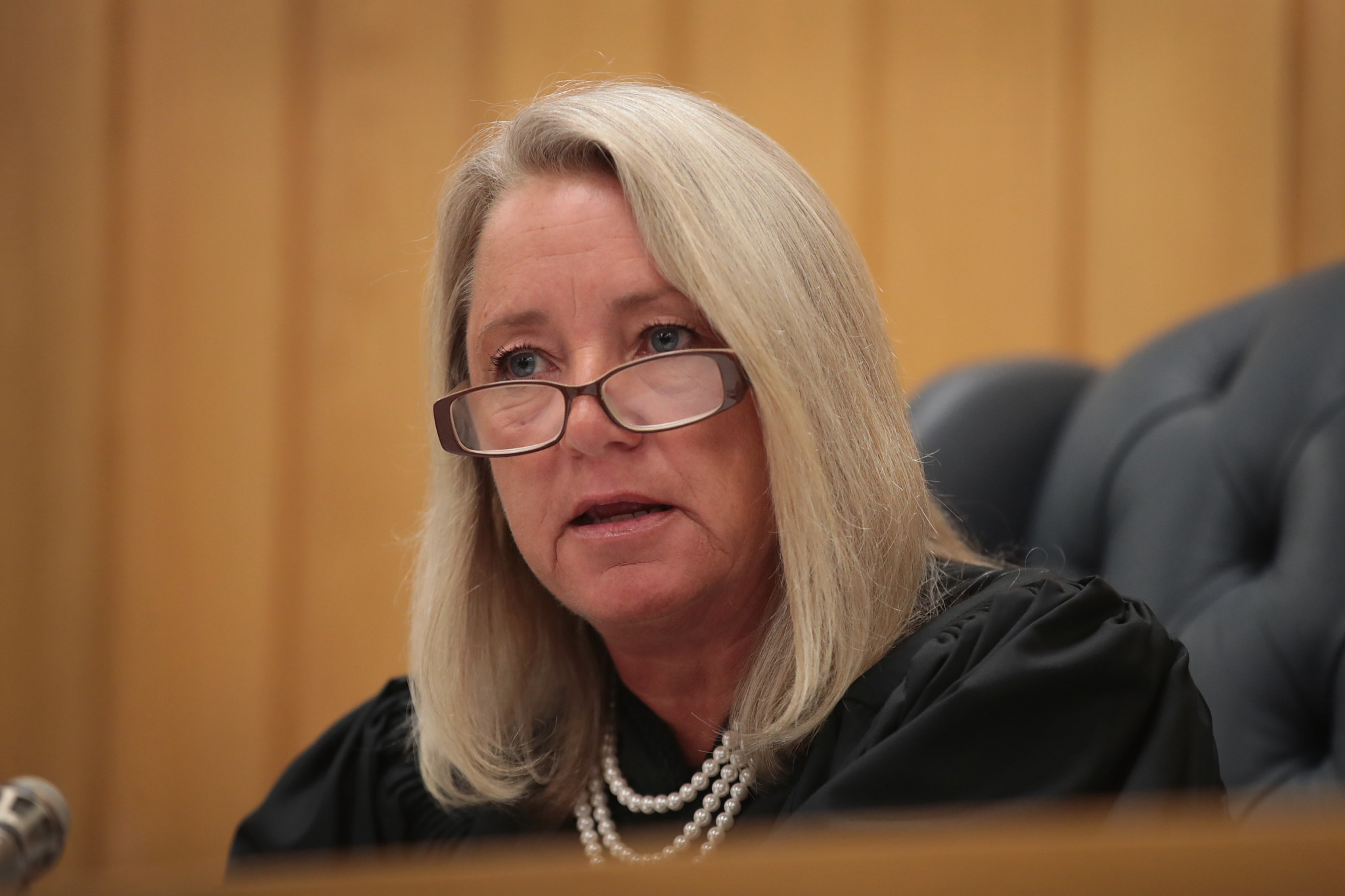 Judge Janice Cunningham rejected Larry Nassar's supposed apology ©Getty Images