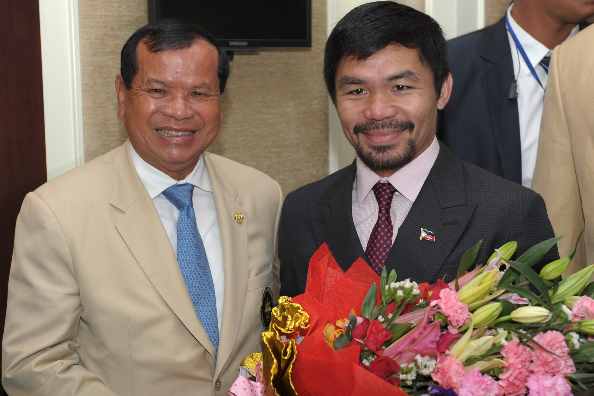 Khon re-elected National Olympic Committee of Cambodia President