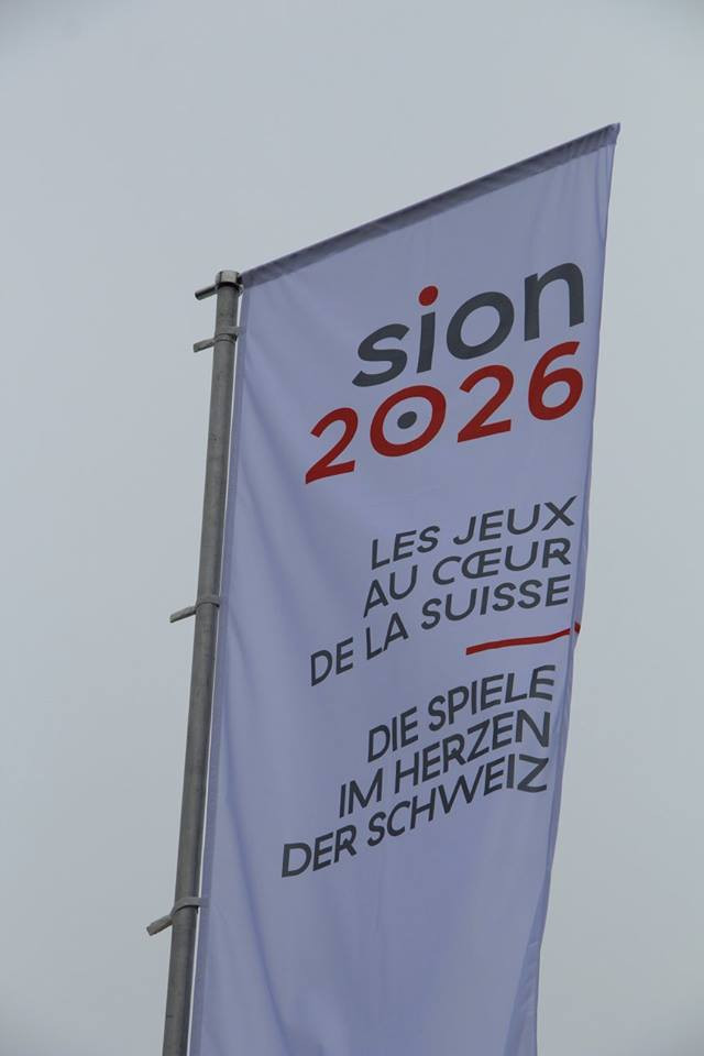 A Sion 2026 referendum is due to take place in June ©Sion 2026