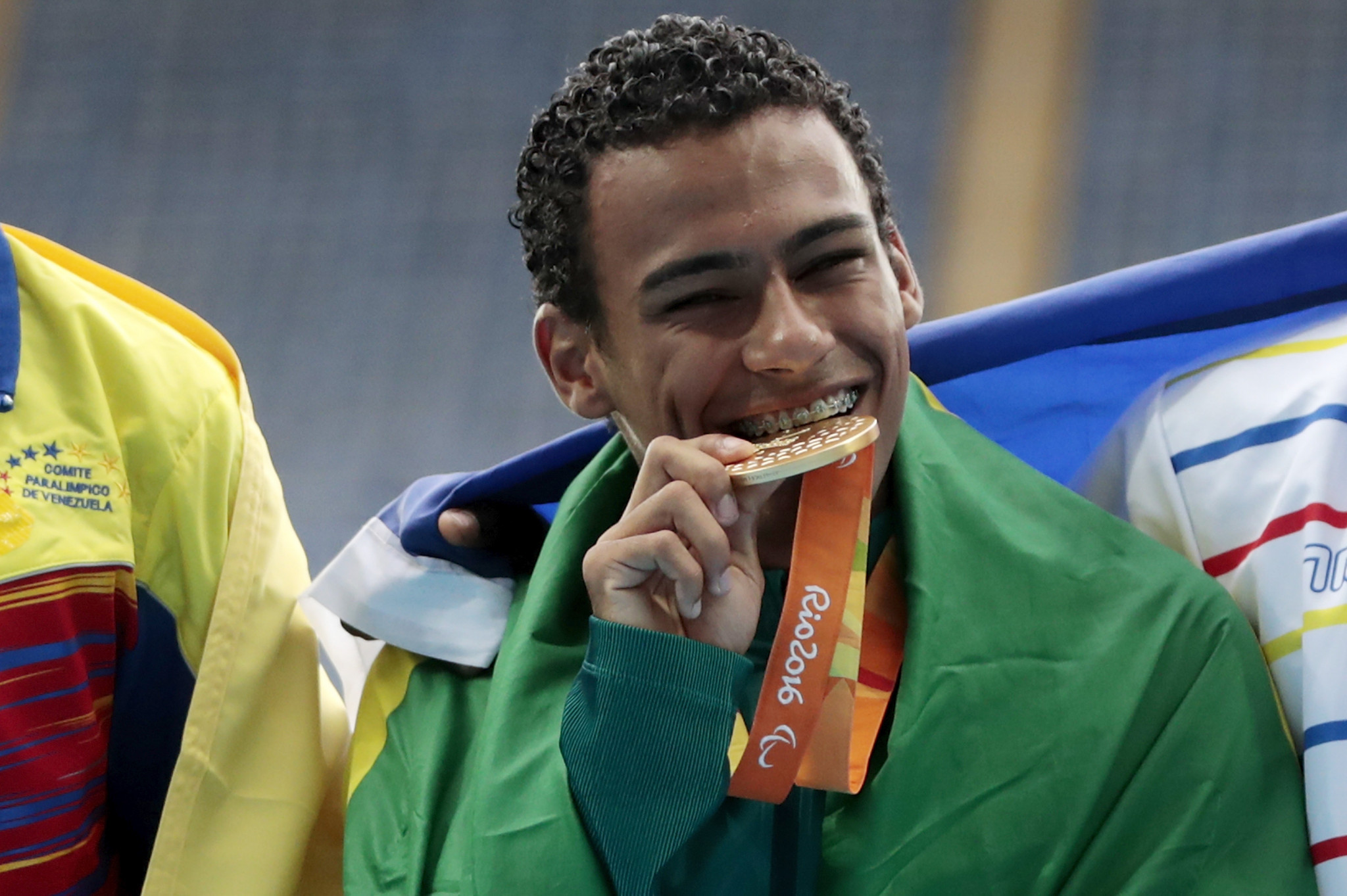 Brazilian runner Daniel Martins says the Global Games gave him the platform to win gold at Rio 2016 ©Getty Images