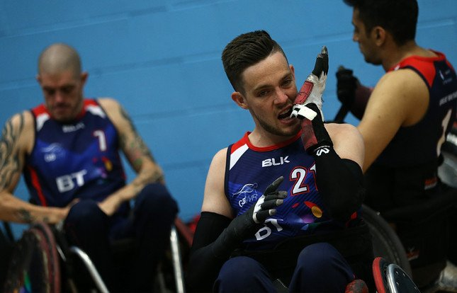Great Britain announce wheelchair rugby squad for Quad Nations