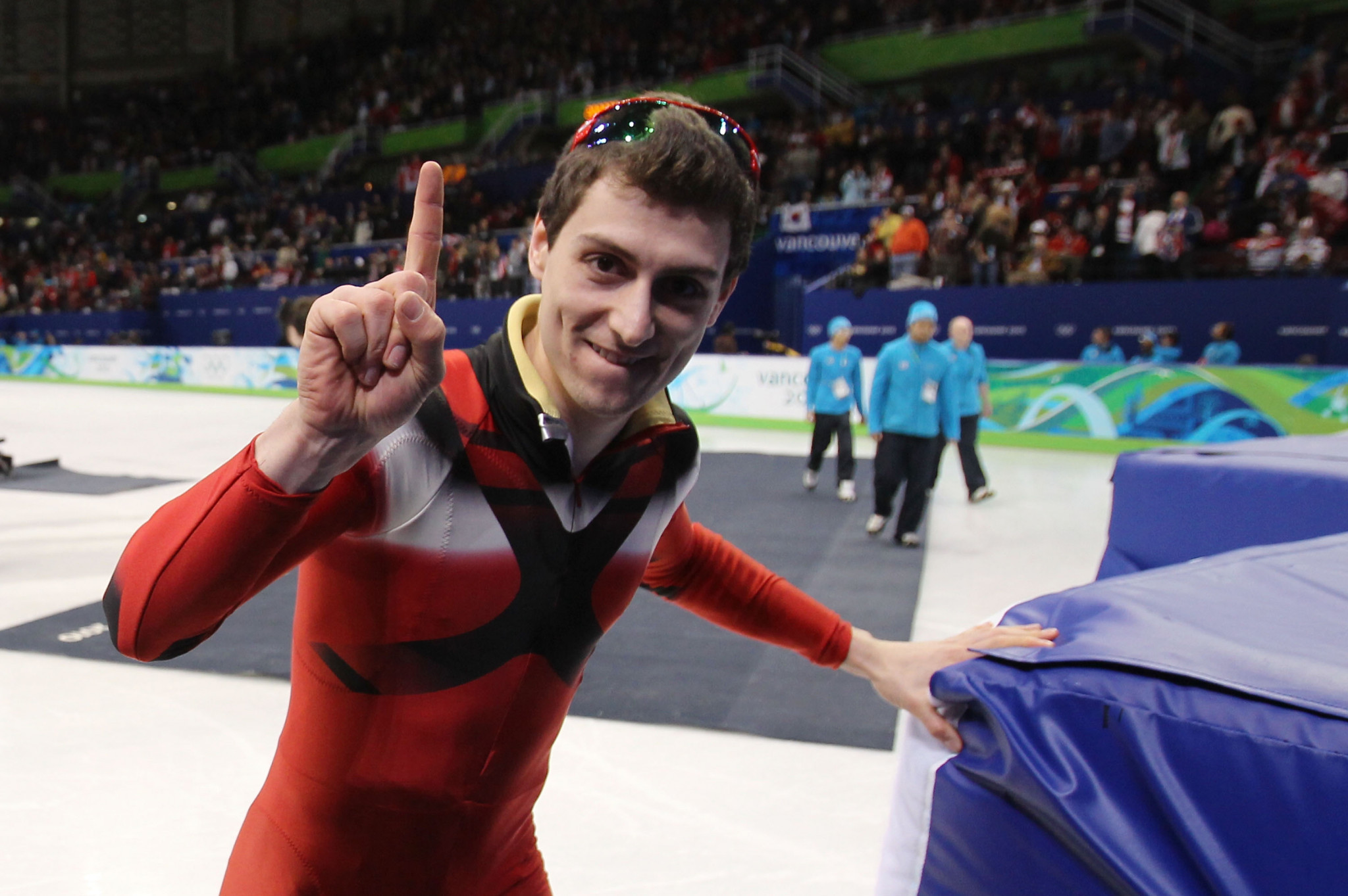 Guillaume Bastille has retired from short track speed skating ©Getty Images