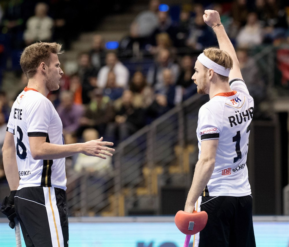 Hosts Germany record emphatic win on opening day of Indoor Hockey World Cup