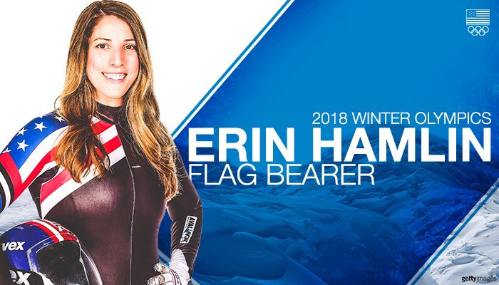 Hamlin to carry US flag at Pyeongchang 2018 Opening Ceremony