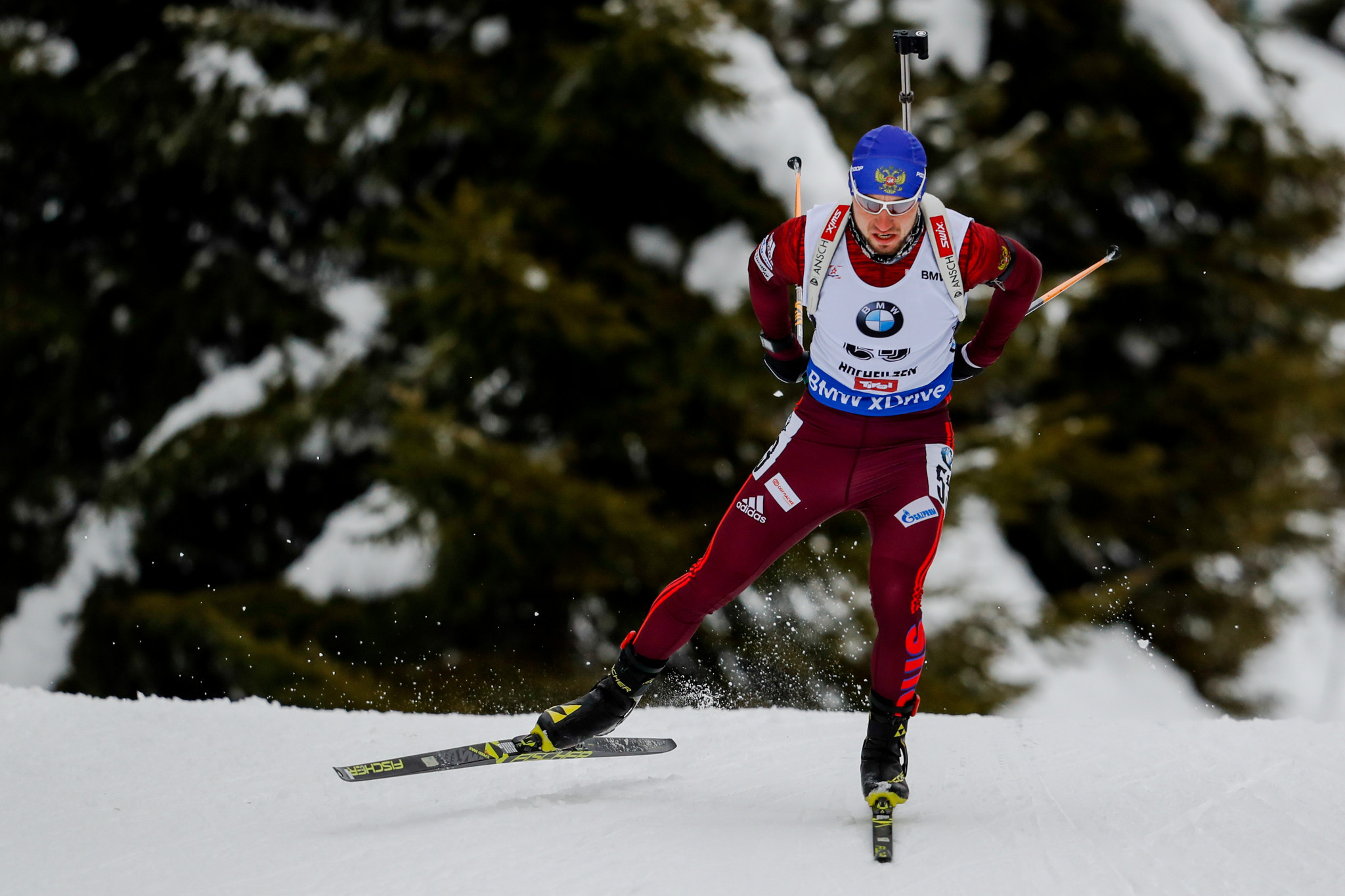 Biathlete Alexander Loginov is among others to have appealed ©Getty Images