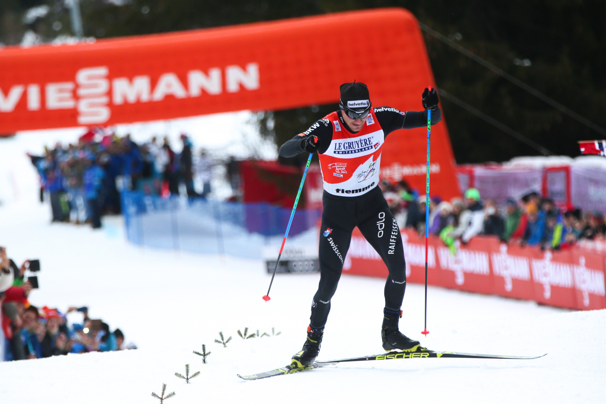 Switzerland's Dario Cologna will be among the favourites for cross-country glory at Pyeongchang 2018 ©Getty Images