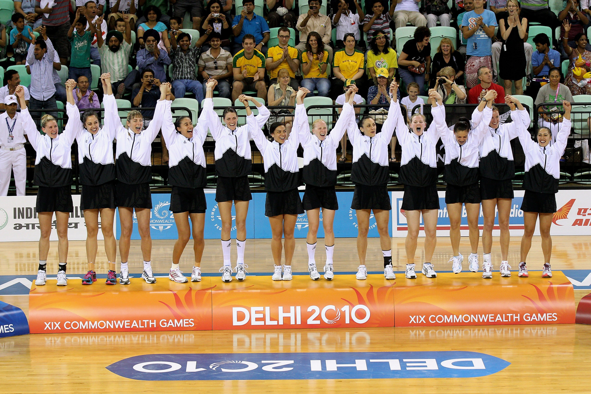 New Zealand will be looking to reclaim the netball title at Gold Coast 2018 after last winning at Delhi 2010 ©Getty Images