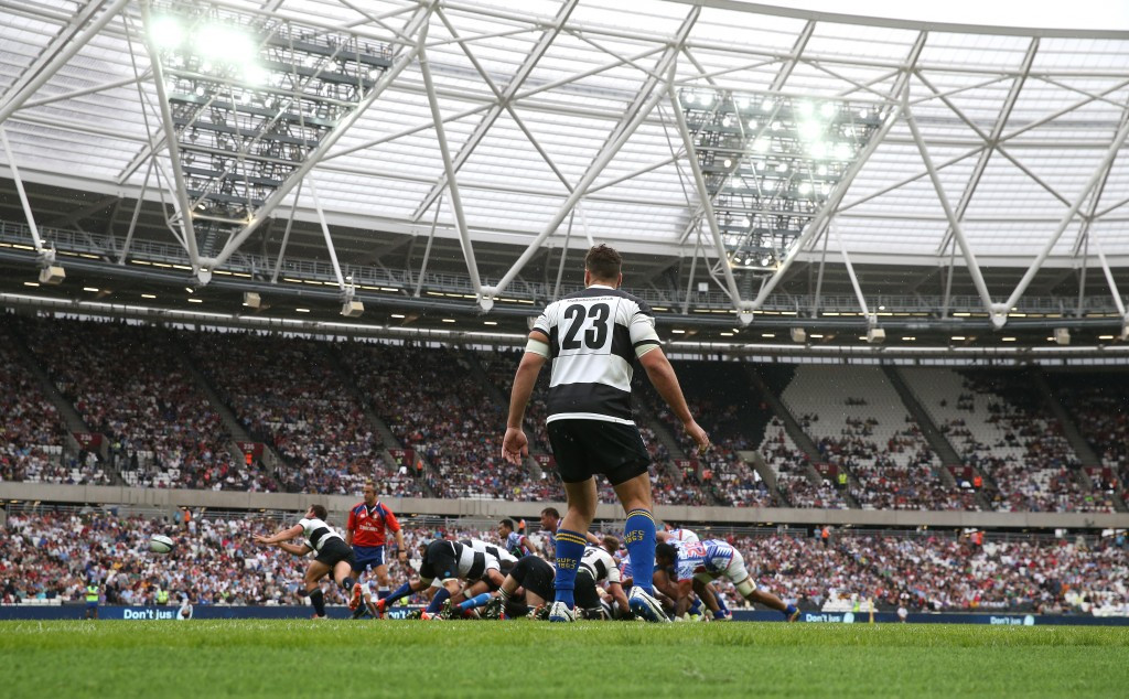 Opening rugby match at London 2012 Olympic Stadium slammed as