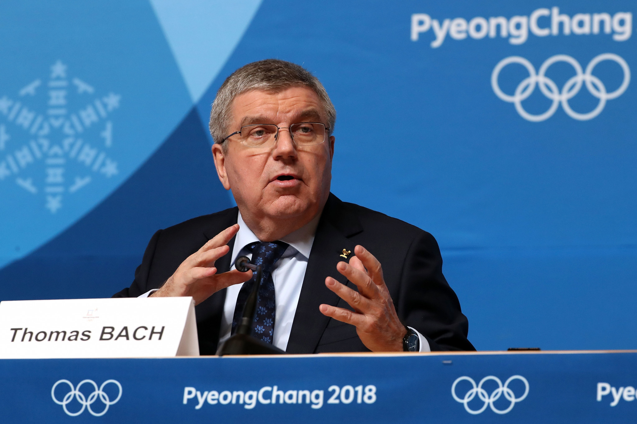 Thomas Bach has recently questioned the views of locals who oppose Games being hosted in their region ©Getty Images