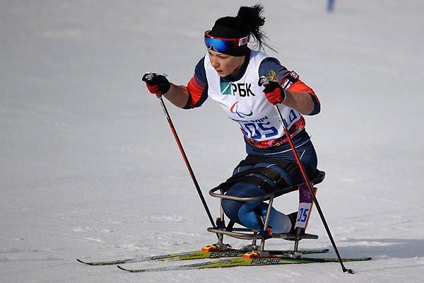 Marta Zainullina claimed the women's sitting title in Vuokatti ©Russian Paralympics/Twitter