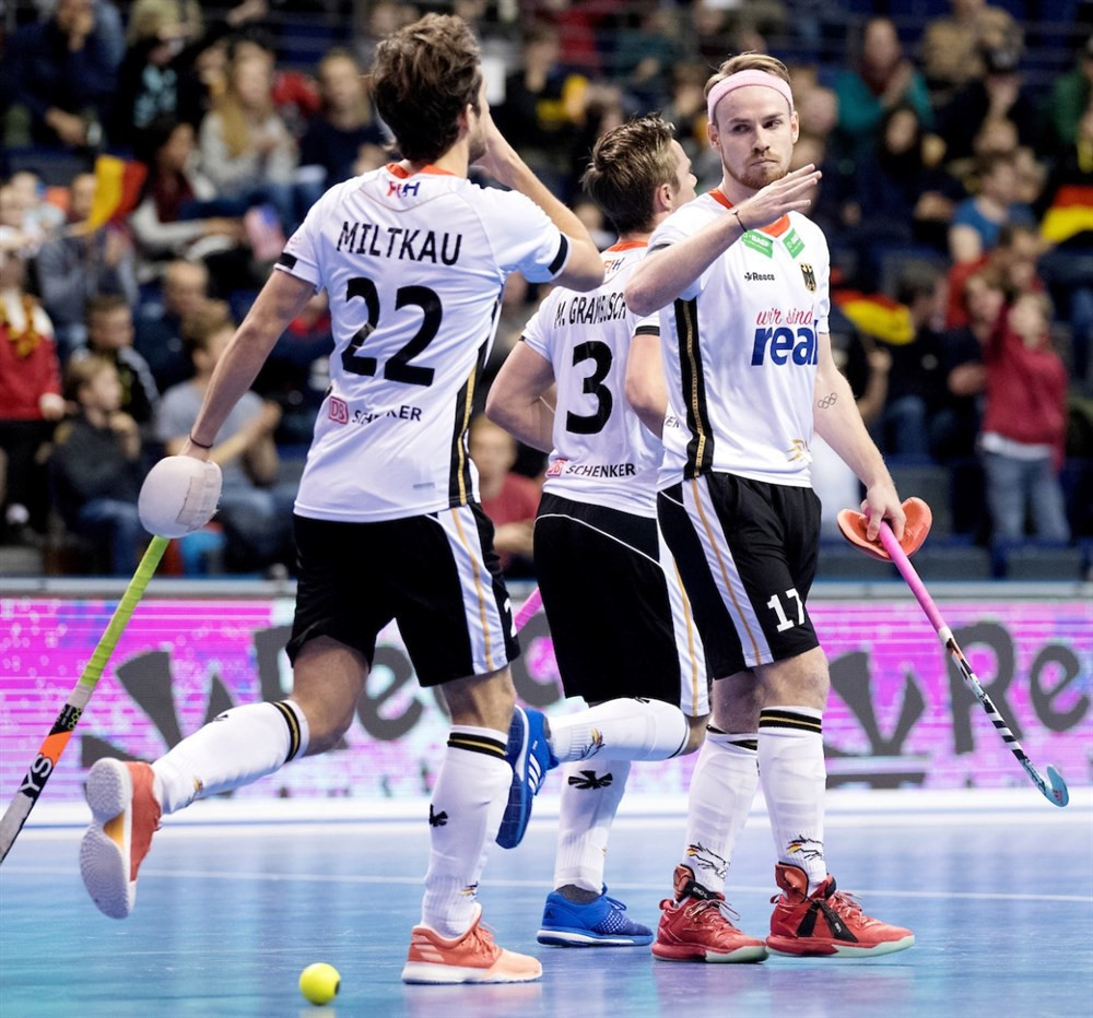 Hosts Germany continued their excellent start to the tournament ©FIH