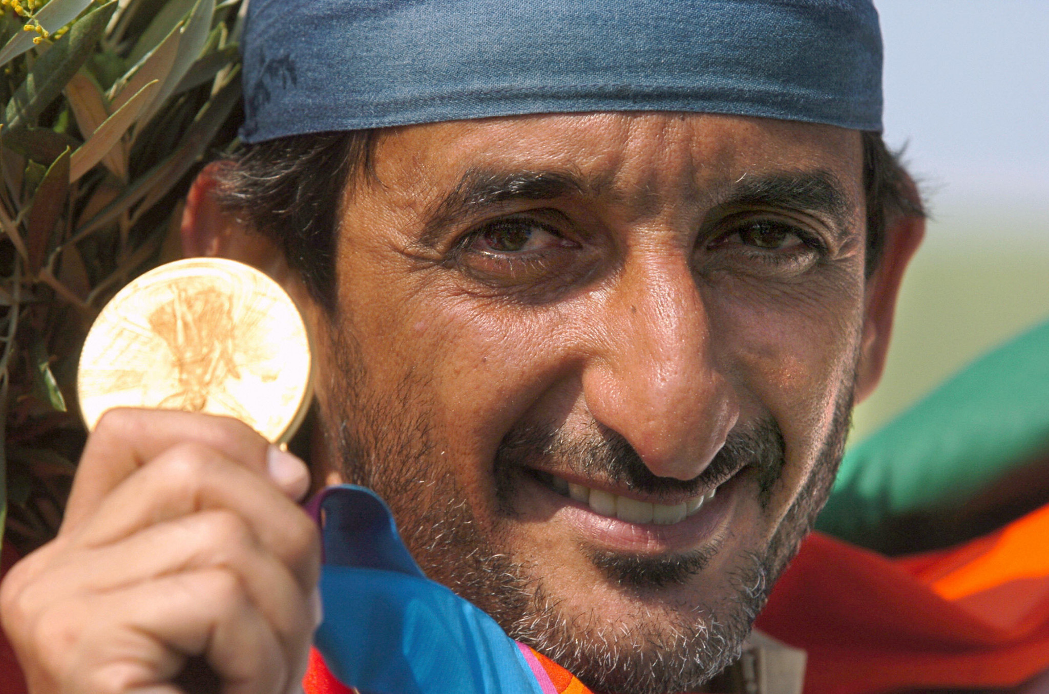 Ahmed Al Maktoum won the UAE's first-ever Olympic gold at Athens 2004 ©Getty Images