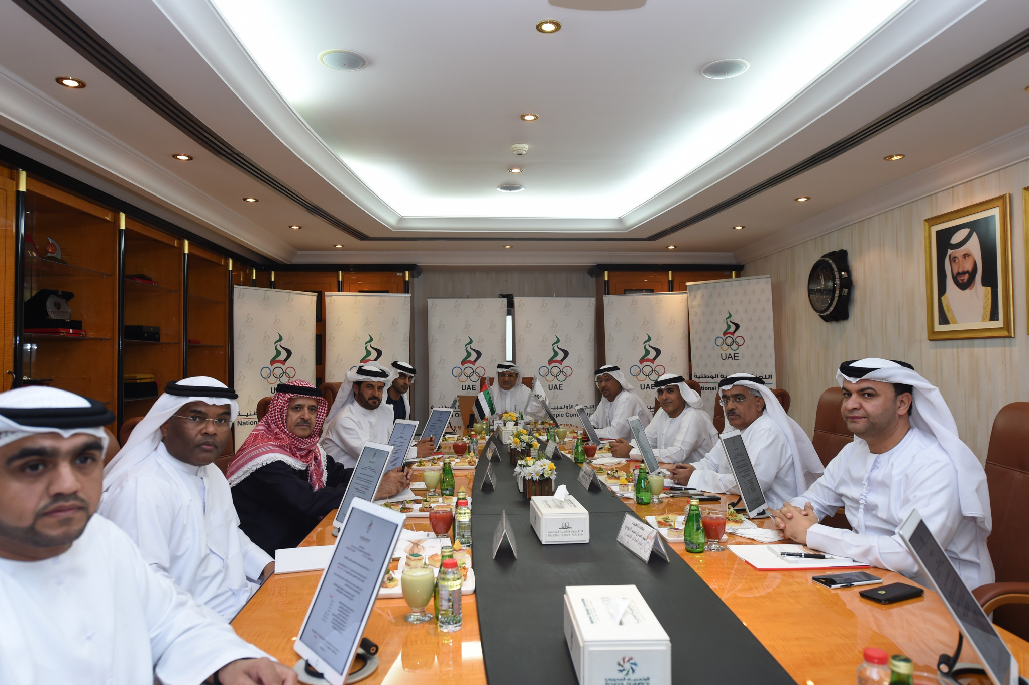 UAE National Olympic Committee approve budgets for 2018
