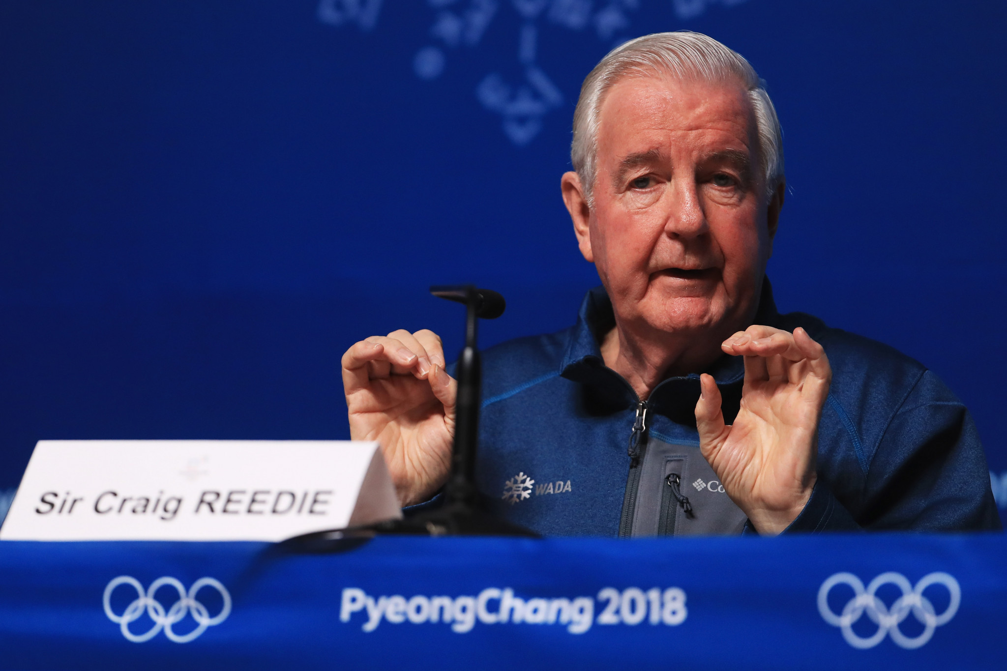 WADA President Sir Craig Reedie welcomed the CAS verdicts today ©Getty Images