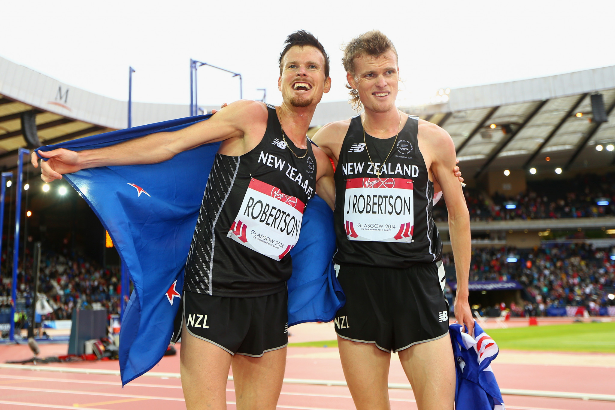 Robertson twins added to New Zealand athletics team for Gold Coast 2018