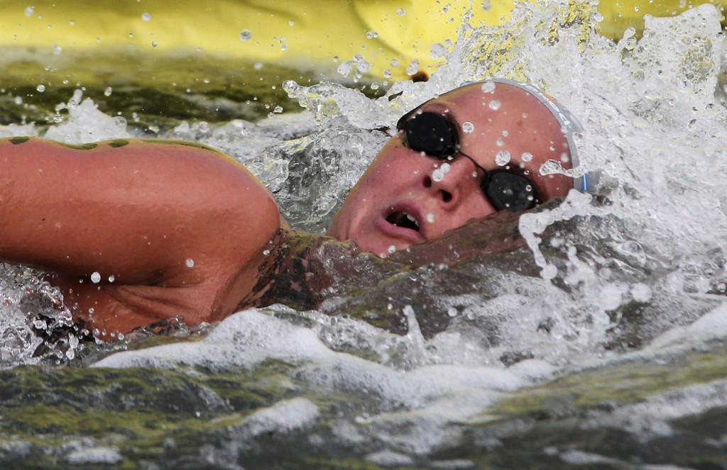 Alice Franco eased to victory in the Macedonian-leg of the FINA Open Water Swimming Grand Prix series ©Getty Images