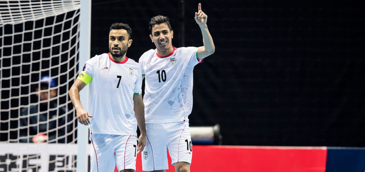 Iran thrashed Uzbekistan to reach the final ©AFC
