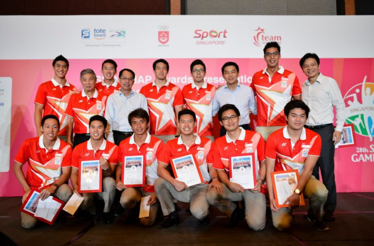 Singaporean athletes have been rewarded for their performances at an awards presentation and dinner ©SNOC