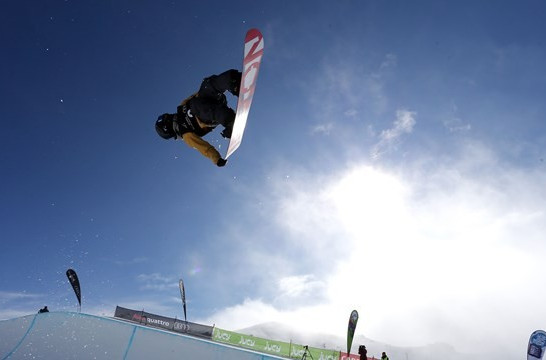 Katayama and Xuetong prosper on day of Asian success at FIS Snowboard World Cup