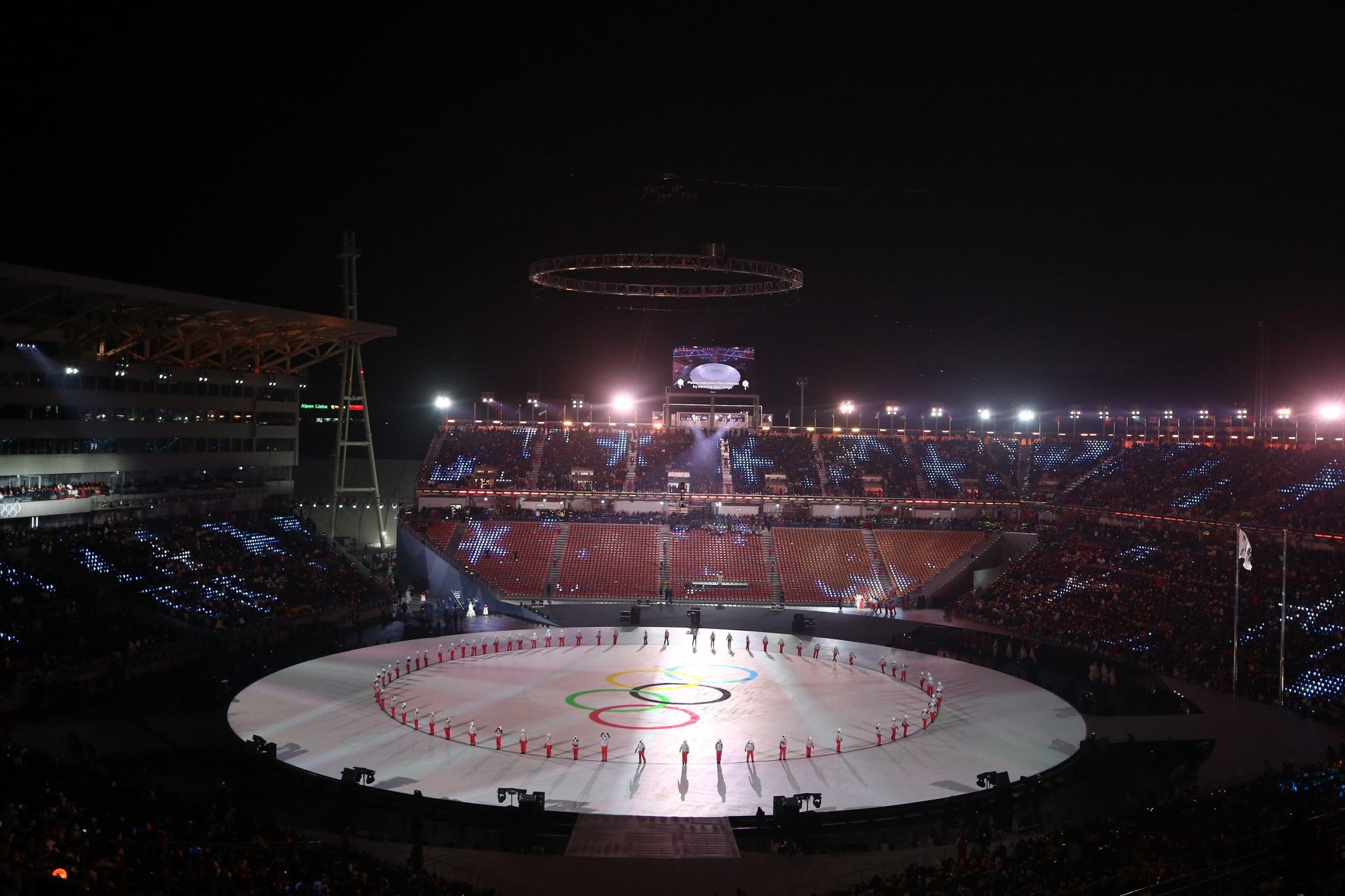 Pyeongchang 2018 launch investigation after fears of cyber-attack during Opening Ceremony