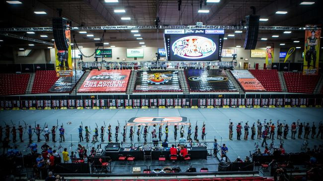 Compound archers make impressive starts at Indoor Archery World Cup in Las Vegas