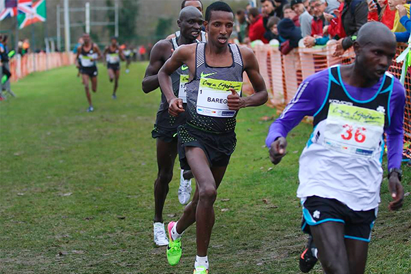 Ethiopia's Selemon Barega will renew his rivalry with Jacob Kiplimo tomorrow in the IAAF Cross Country Permit event ©Getty Images