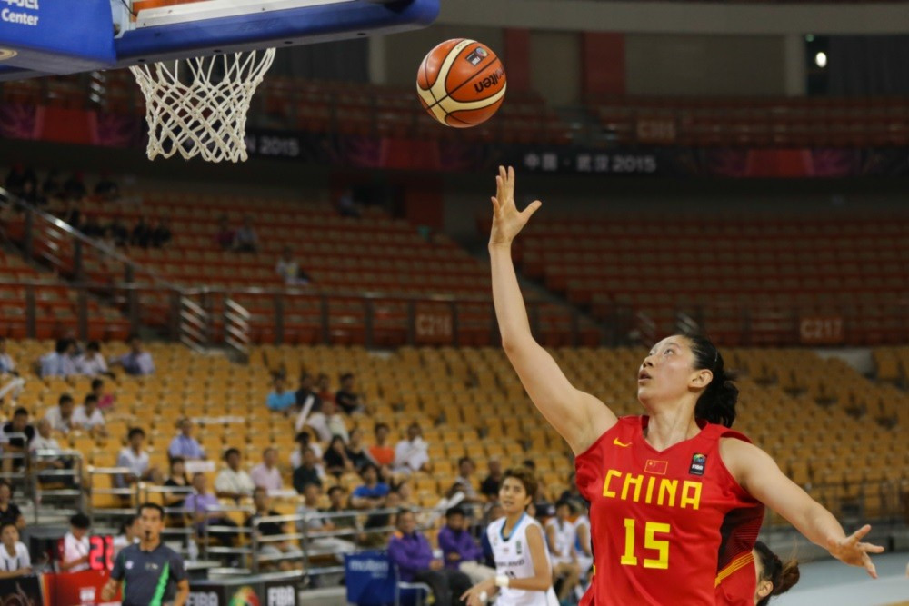 2013 bronze medallists China began in style as they thrashed Thailand