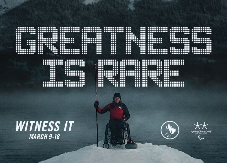 Canadian Paralympic Committee launch new campaign to encourage support for Pyeongchang 2018
