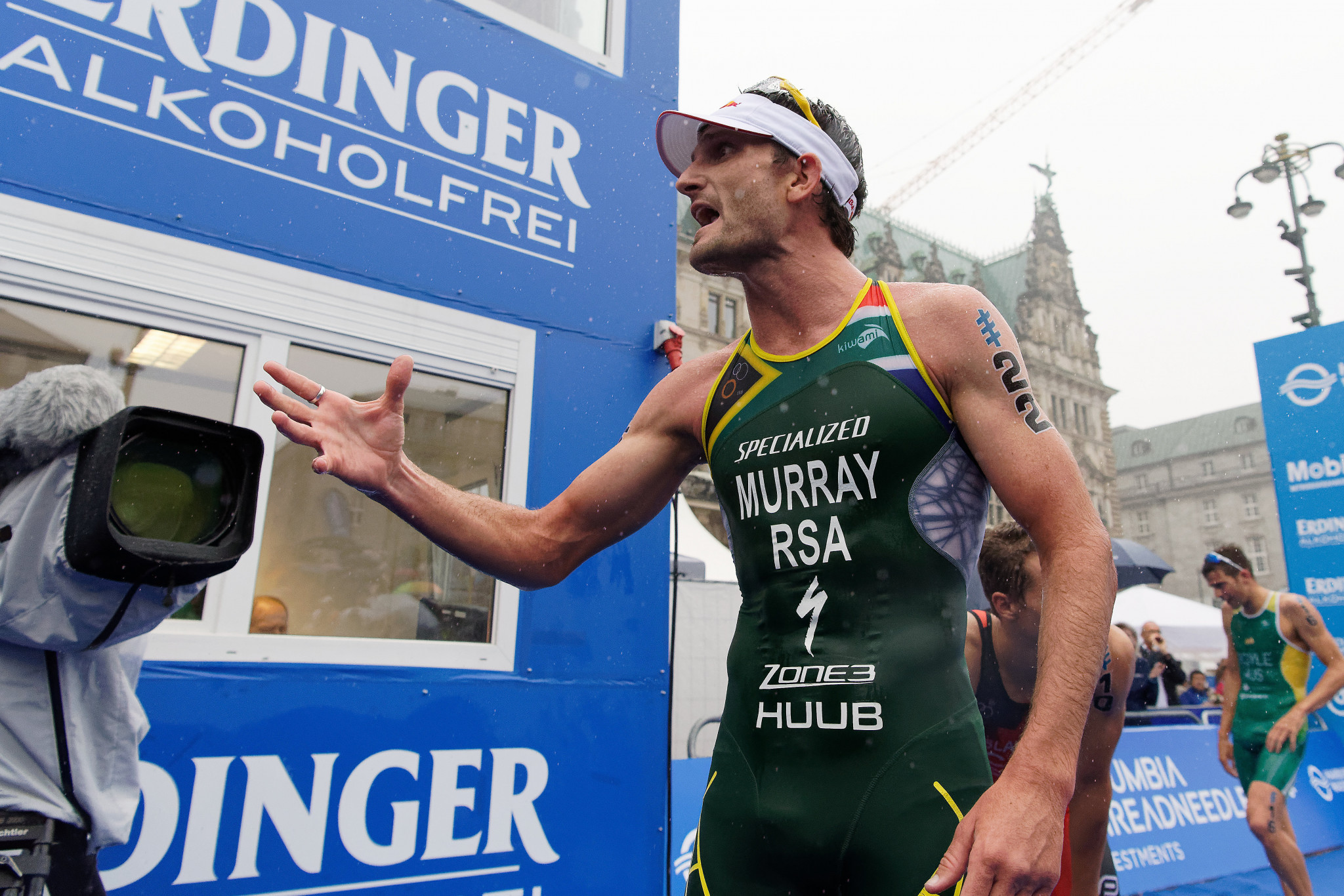 Murray and Schoeman eye podium as ITU World Cup gets underway in Cape Town