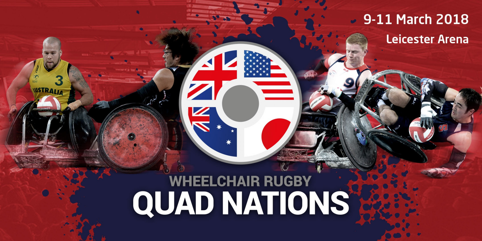 King Power named as title sponsor of inaugural Wheelchair Rugby Quad Nations tournament