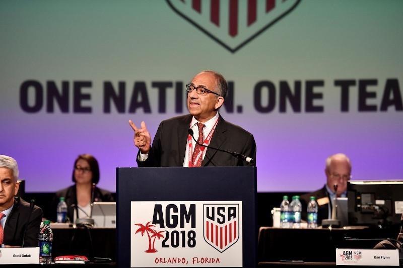 U.S. soccer elects Carlos Cordeiro as next president