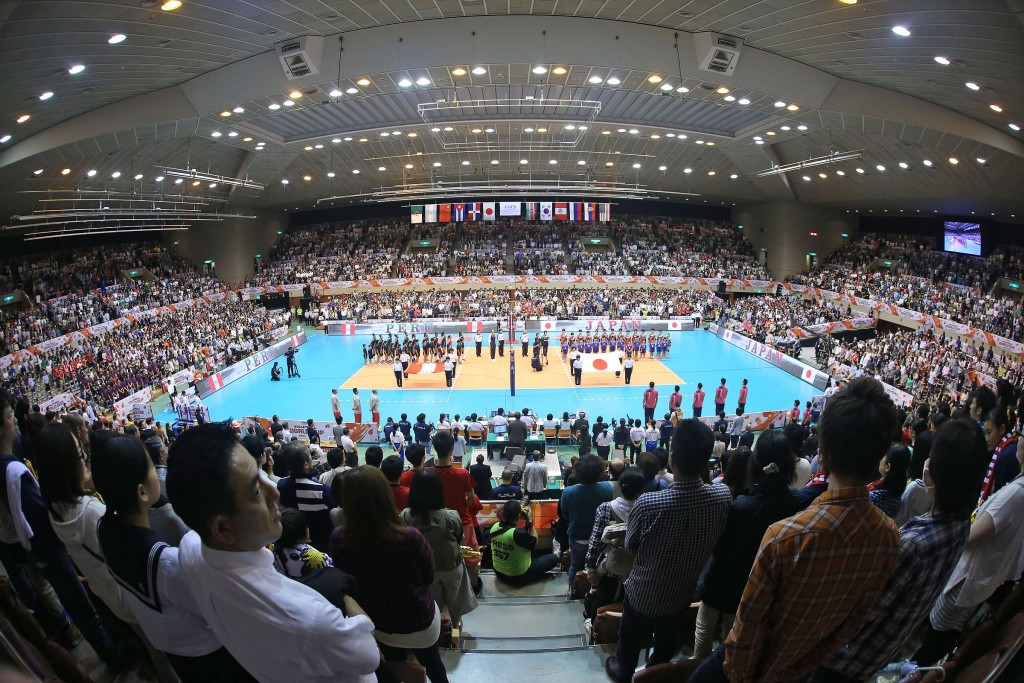 Hosts Japan were among the winners as the second round of World Cup action began ©FIVB