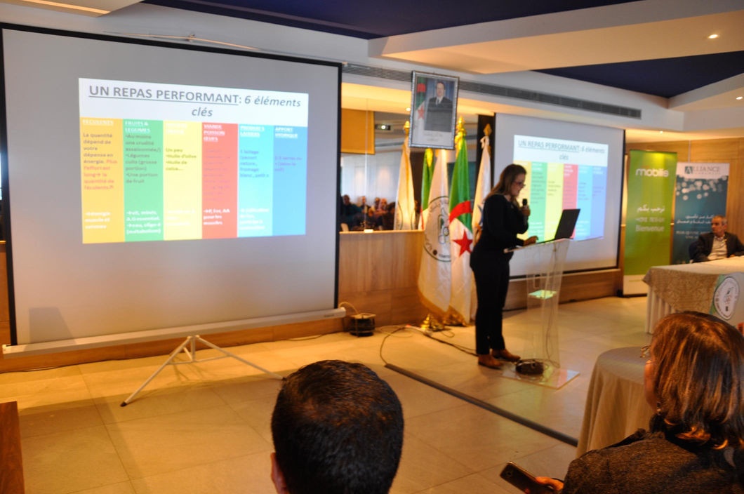 Algerian National Olympic Committee hold nutrition and performance conference