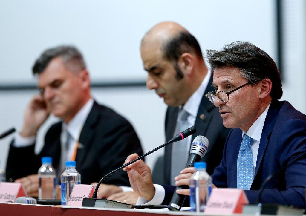 "Coe defends IAAF on anti-doping at conclusion of ""amazing"" World Championships"
