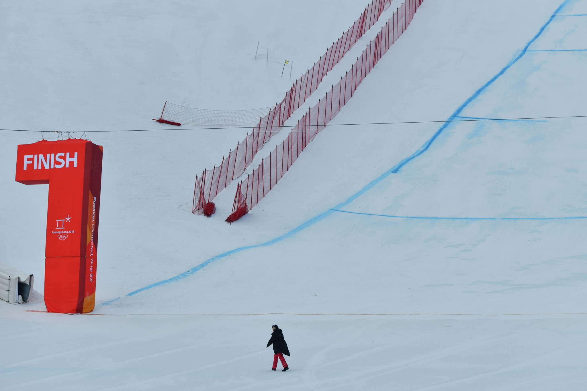 Strong winds force postponement of men's downhill at Pyeongchang 2018