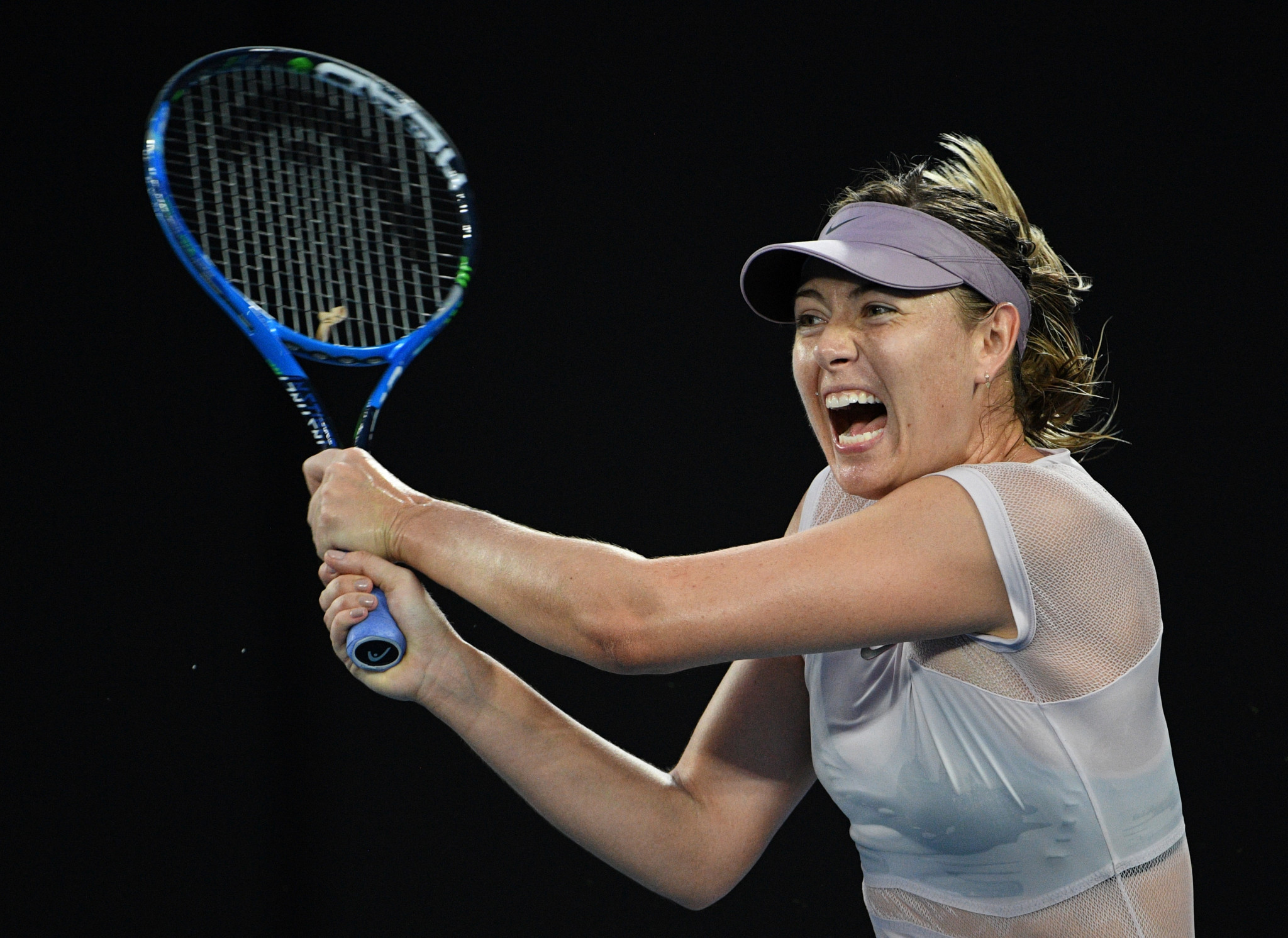 Tennis superstar Maria Sharapova was the most high-profile athlete to serve a meldonium doping suspension ©Getty Images