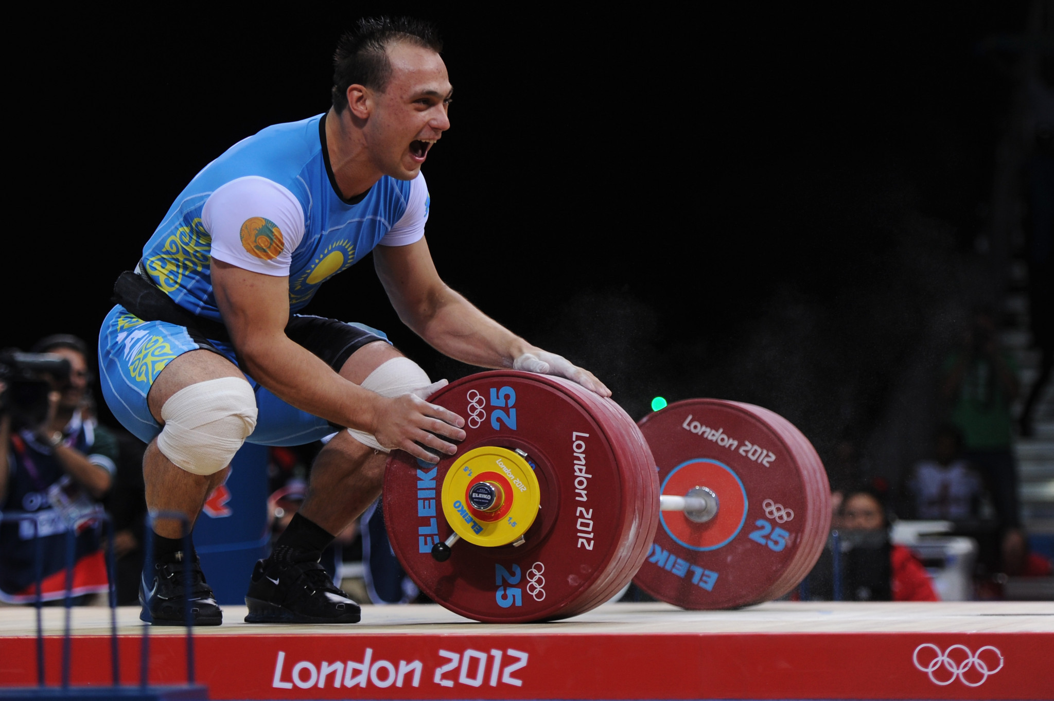 Athletes such as Kazakhstan weightlifter Ilya Ilyin have been stripped of gold medals from Beijing 2008 and London 2012 following re-analysis using new methods enabling longer steroid detection ©Getty Images