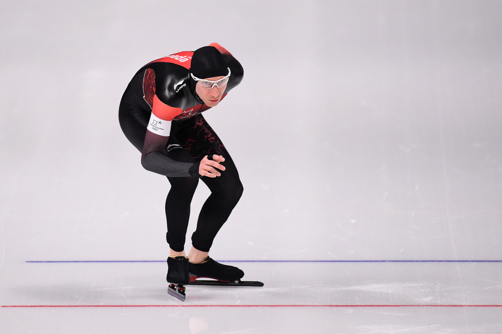Canada's world record holder Ted-Jan Bloemen won the silver medal ©Getty Images