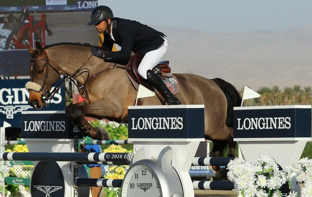 Nassar claims FEI World Cup jumping North American League title in Thermal
