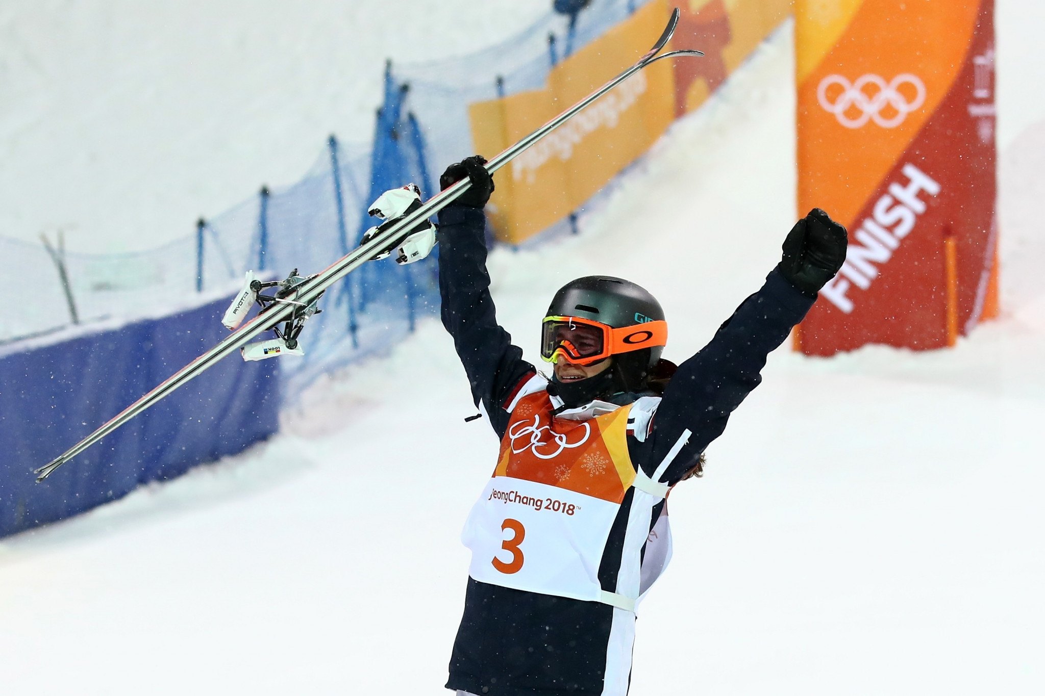 Laffont beats defending Olympic champion to win women's moguls gold at Pyeongchang 2018